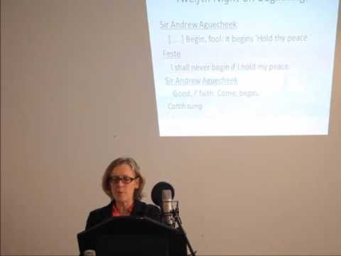 Kate Aughterson: Dramaturgy and Politics in Shakespeare's Opening Scenes
