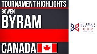 Bowen Byram | Hlinka Gretzky Cup | Tournament Highlights