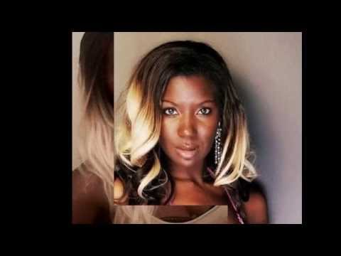 Dark skin and blonde hair. I love it!!!! - YouTube