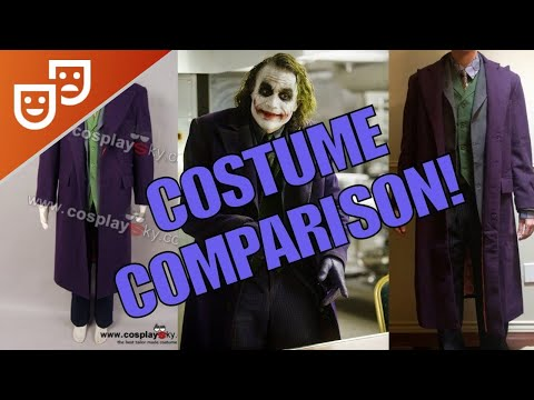 Cosplaysky Dark Knight Joker Costume Review & Accuracy Comparison