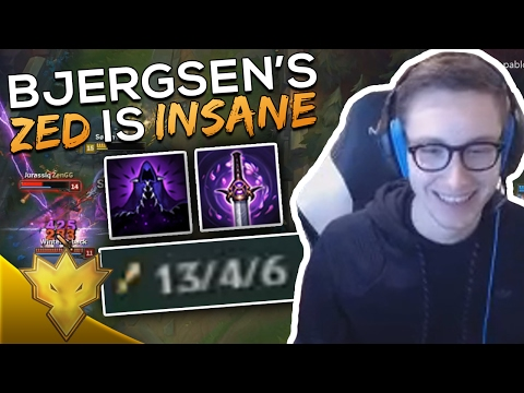 Bjergsen's Zed is INSANE! - League of Legends Funny Moments & Highlights