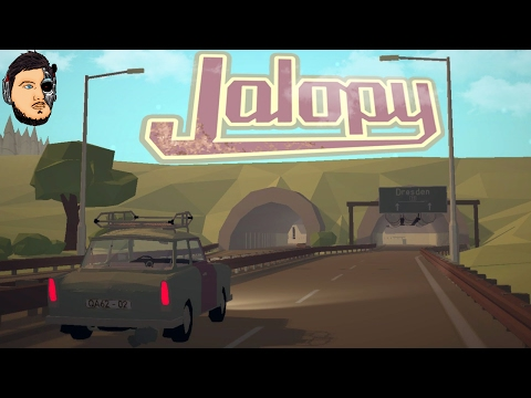 Driving to Dresden - Jalopy Early Access Gameplay