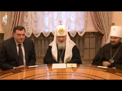 Патриарх Кирилл...