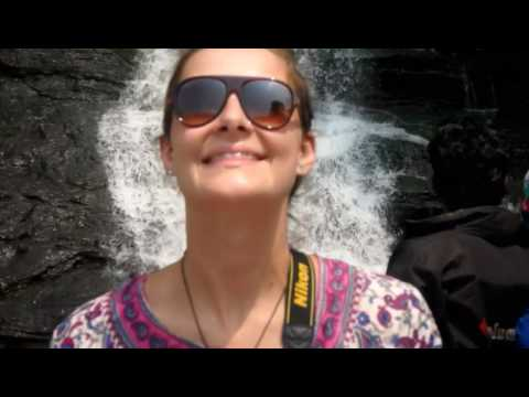Munar trip day 1. Indian elephants. Waterfalls. Spice garden