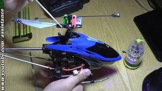 Р/У Вертолет - ремонт тяги, гироскопа, лопастей(Как чинить радиоуправляемый вертолет после падения. ПОДПИШИТЕСЬ НА КАНАЛ / ПОСТАВЬТЕ ЛАЙК - https://www.youtube.com/use..., 2014-04-10T21:23:44.000Z)