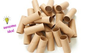 Easy Way To Reuse/Recycle Empty Tissue Rolls| How To Recycle Tissue Rolls Best Out Of Waste