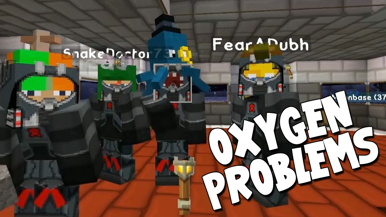 Minecraft mission to mars oxygen problems 13 youtube