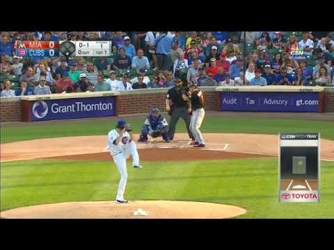 August 02, 2016-Miami Marlins vs. Chicago Cubs
