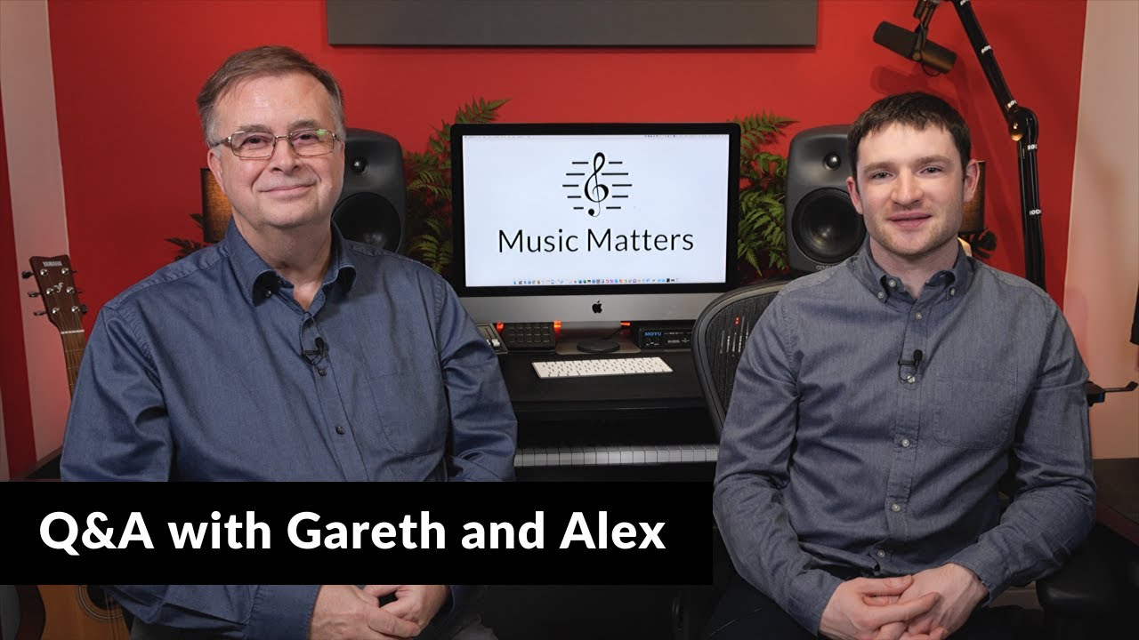 Q A With Gareth And Alex All About Music Matters Youtube