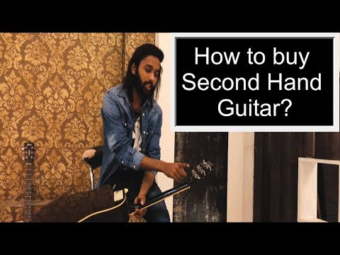 Low budget guitar under 1500rs how to buy second hand guitar