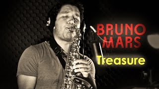 "Bruno Mars - ""Treasure"" Instrumental (Saxophone Cover)"