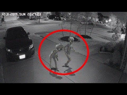5 ظواهر غامضة مخيفة تم التقاطها بعدسات كاميرات المراقبة والدرون !!