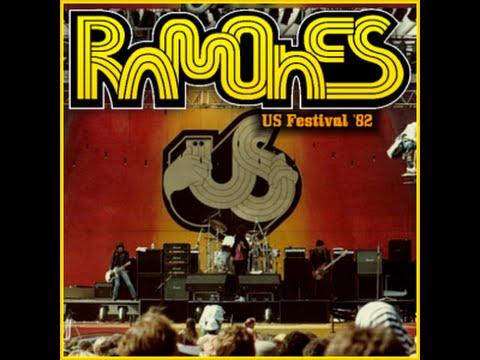 THE RAMONES - Live At Us Festival 1982 - San Bernardino, California