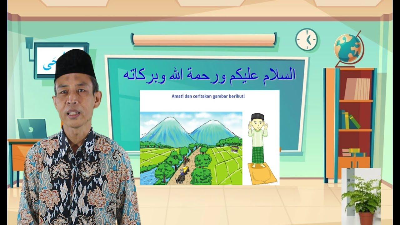 """Video Pembelajaran Kelas 6 Mata Pelajaran Fiqih Materi """"Surat…"""