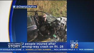 Wrong-Way Crash Shuts Down Northbound Lanes Of Route 28, 2 Injured
