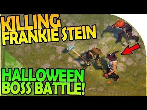 KILLING FRANKIE STEIN - HALLOWEEN BOSS BATTLE - Last Day On Earth Survival 1.6.5 Update