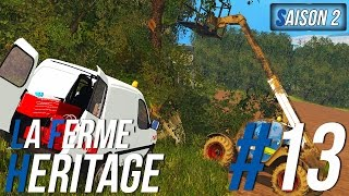 Farming Simulator 15 | La Ferme Héritage | Épisode 13 S2 | Élagage ! (RôlePlay)