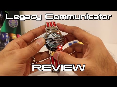 Legacy Communicator Unboxing/Review [Mighty Morphin Power Rangers]