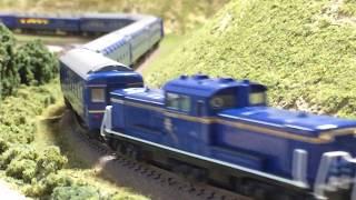 Nゲージ 鉄道模型 Kato DD51 重連 北斗星 フル編成 #2