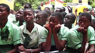 21 DAYS OF YELLO CARE | Illupeju Grammar School