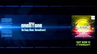 oneBYone - American Dream EP (video-preview) OUT NOW!!!