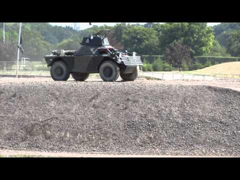 Bovington Tank Museum - Ferret armoured car