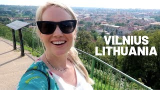 American Girl's First Impression of Vilnius Lithuania | Travel Vlog
