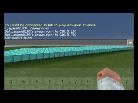 How To Use Fill Command In Minecraft Pe Any Version