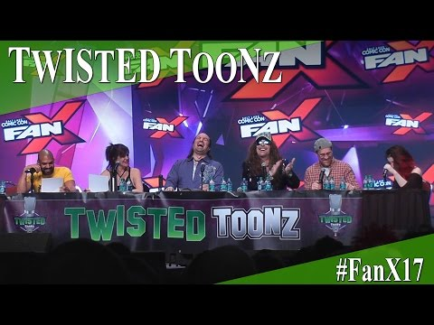 Twisted Toonz Panel - Beauty and the Beast - FanX 2017