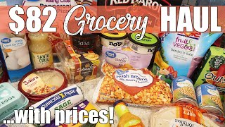 $82 Walmart Grocery Delivery Haul & Meal Plan | May 2020