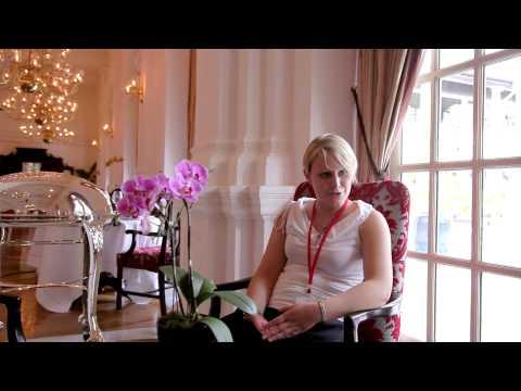 Interview of Federica Pecarori - Lis Neris Winery at the Raffles Hotel