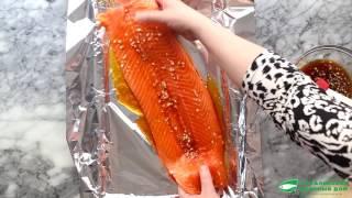 Как правильно запекать лосось