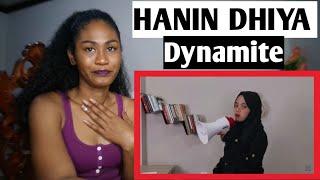 Hanin Dhiya Bts 방탄소년단 Dynamite Cover Reaction