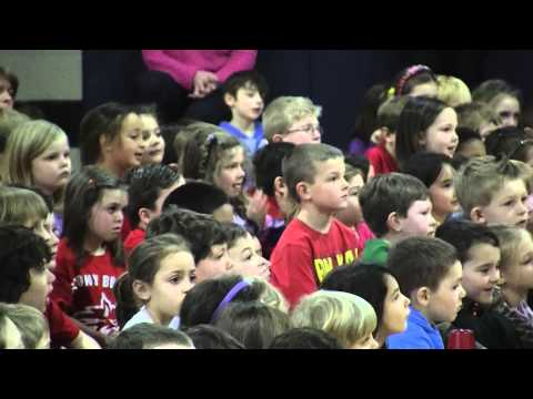 """Can't Hold Us"" at Setauket Elementary School"