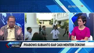 [DIALOG] Prabowo: Saya Diminta Membantu Bidang Pertahanan