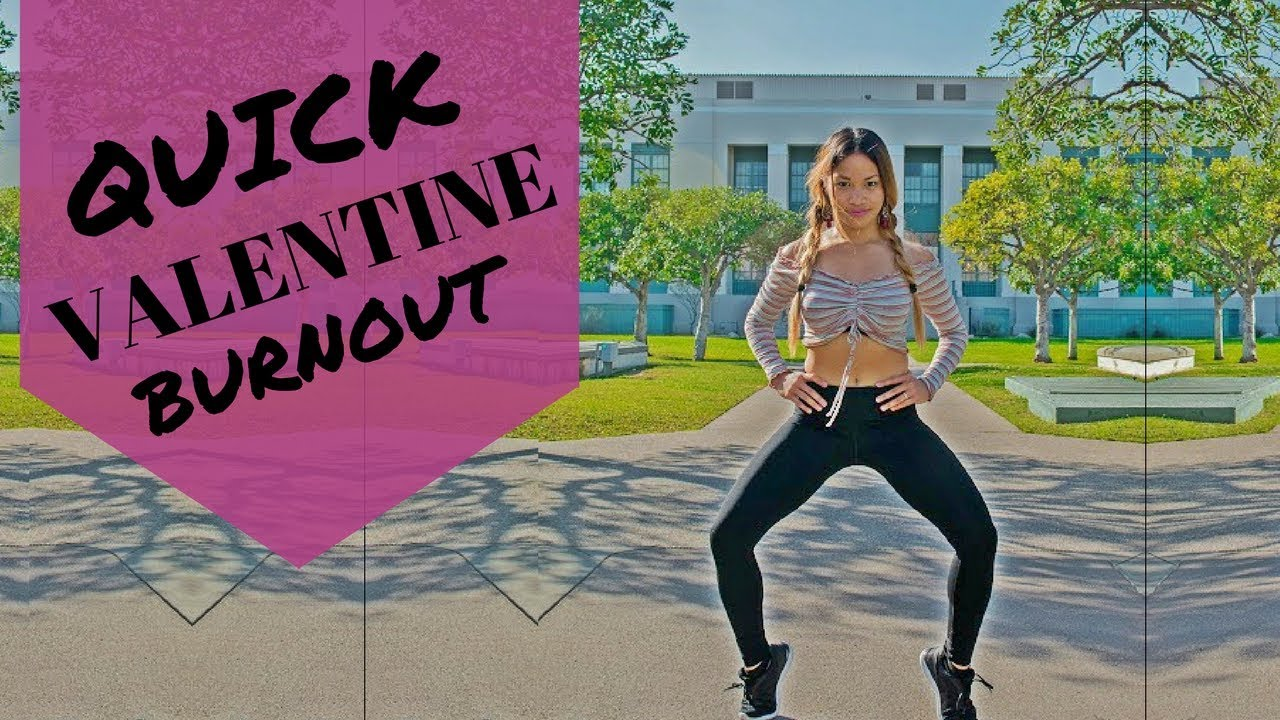 Badass And Sexy Points | KC carter|LAKATWOMAN-Quick Valentine Burnout (Bodyweight Circuit Training )