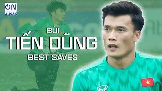 Bùi Tiến Dũng • Best Saves Show | SPIDER-MAN của U23 Việt Nam