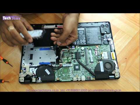 Acer V5 572 572g 572p Of 2nd Gen Laptop How To Upgrade Ram Harddrive And Replace The Battery Easy Di