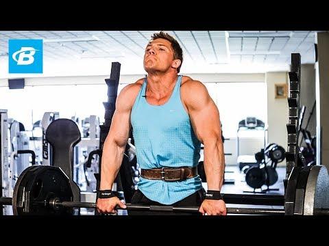 Steve Cook's Shoulders & Traps Workout   Big Man on Campus