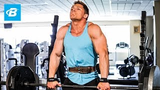 Steve Cook Shoulders and Traps Workout | Big Man on Campus