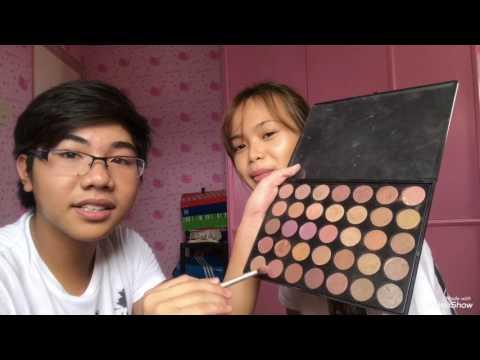 I let him do my make up?    nikka films