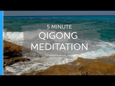 5 Minute Qigong Meditation with Jeffrey Chand