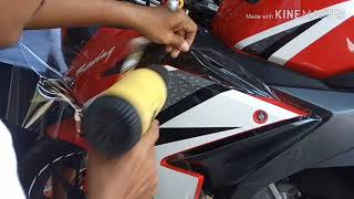 Honda CBR 150 new full anti gores