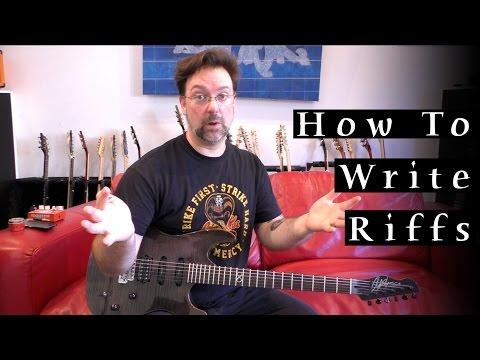 How To Write Riffs - Rob Chapman (Q&A)
