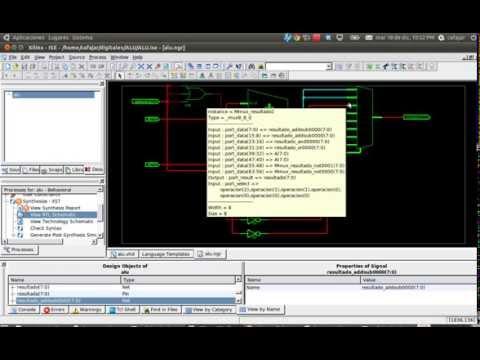 Video 3:  ALU en VHDL