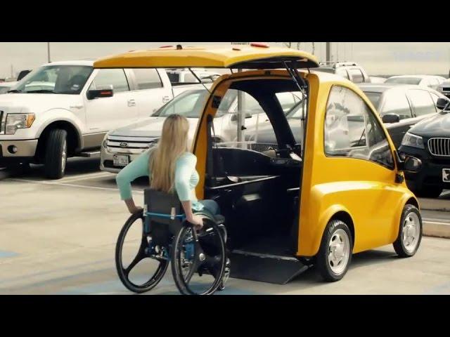El primer auto eléctrico creado para personas en silla de ruedas