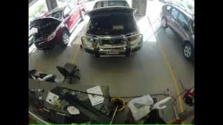 Nissan Navara Alloy-bullbar Fitment. Time-lapse