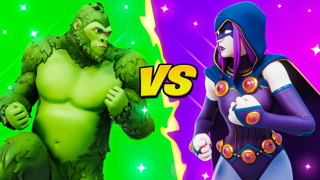 BEASTBOY vs RAVEN!