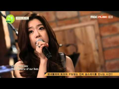 140227 Girl's Day (Sojin & Minah) - Someone Like You @ Picnic Live