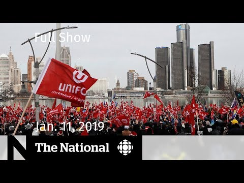 The National for January 11, 2019 — Ottawa Bus Crash, GM Fight, Saudi Teenager